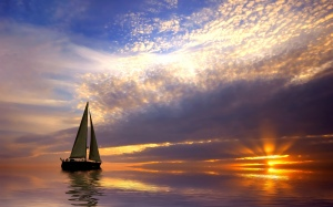 Sailing-Sunrise