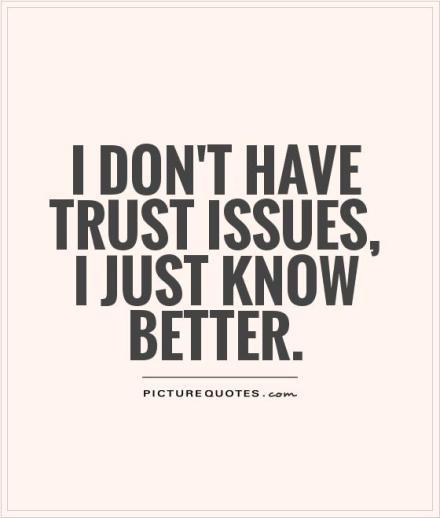 TrustIssues
