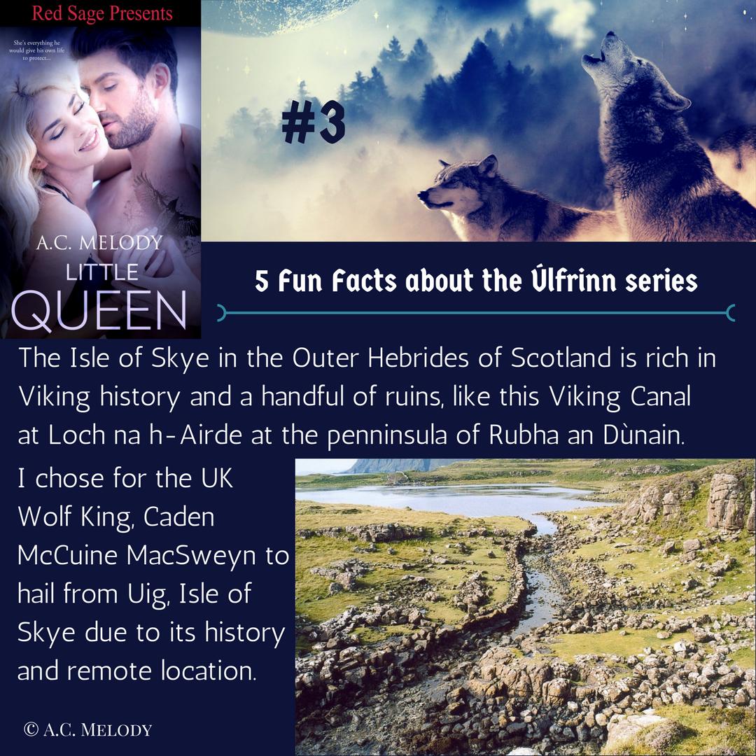 5 Fun Facts - Úlfrinn series #3