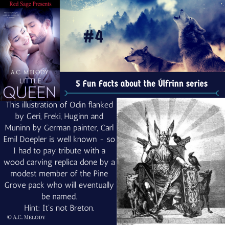 5 Fun Facts - Úlfrinn series #4
