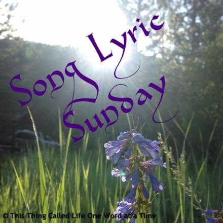 SongLyricSunday