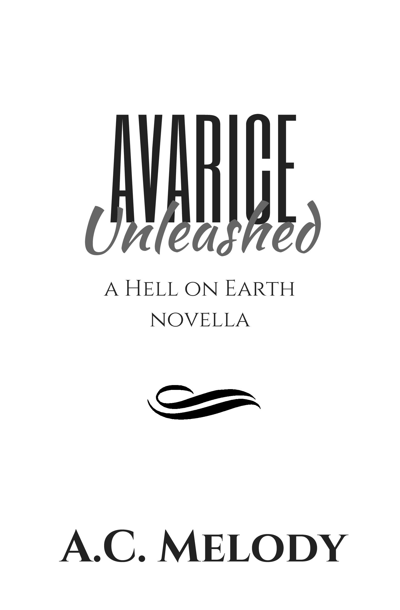 Avarice Unleashed Title Page-page-001